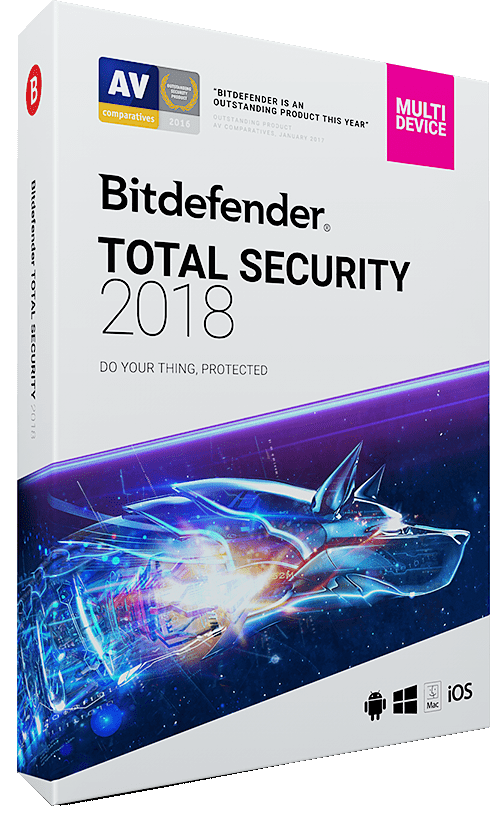 Bitdefender Total Security 2018 Special
